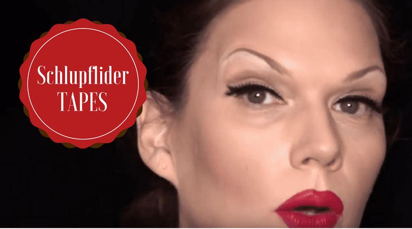 Schlupflider schminken – Die besten Tipps!